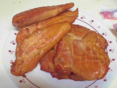 12.29鶏の薫製