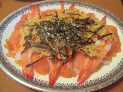 12.31ちらし寿司