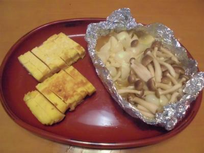 12.31出汁巻きと百合根のバター醤油
