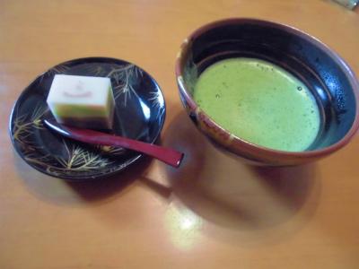 1.2お菓子と抹茶