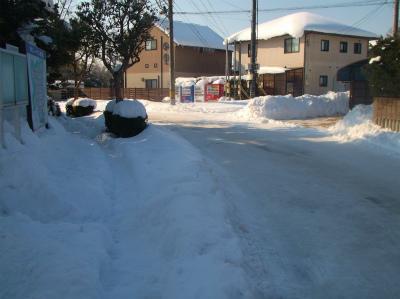 2.9道路も圧雪