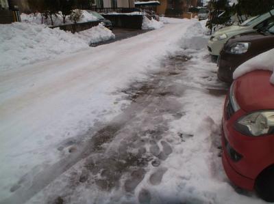 2.9雪かき終了