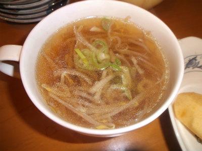 2.9モヤシの中華スープ