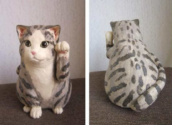 スコティシュホールドの招き猫