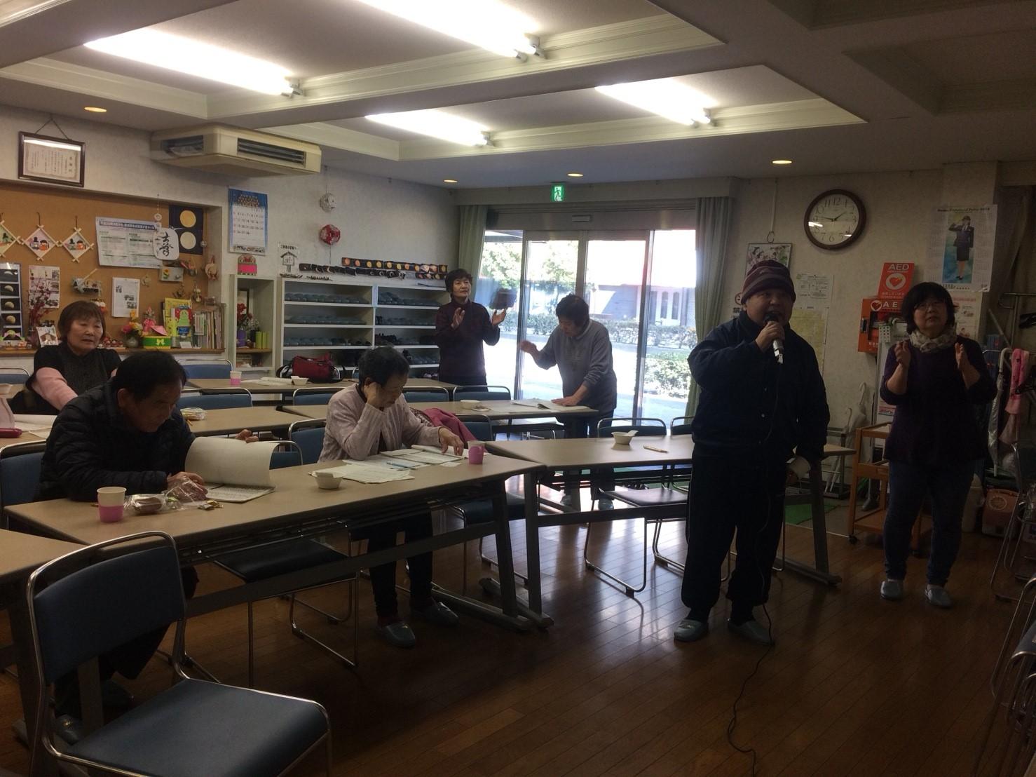 カラオケの会 (2)