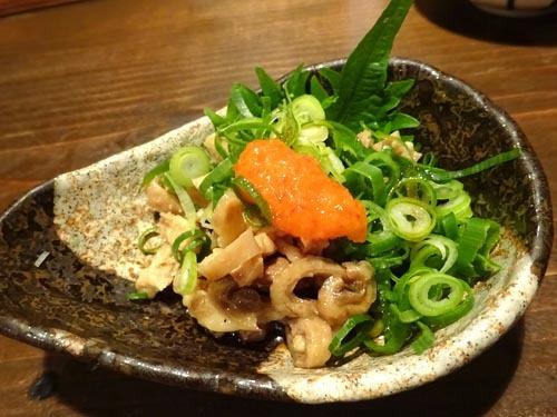04親鶏皮ポン酢