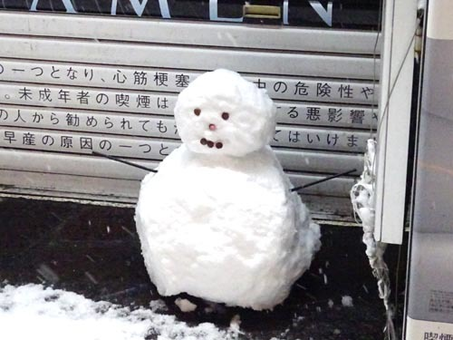 01雪だるま