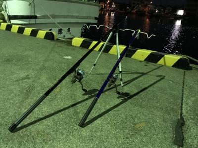 泳がせ釣り用の竿