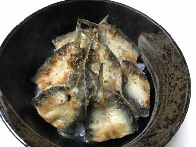 マイワシの塩蒲焼丼