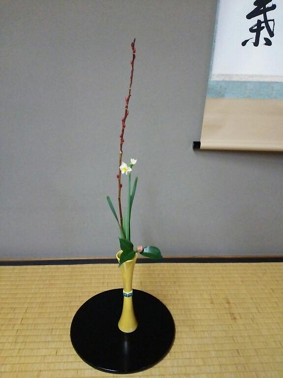 若菜会 12月7日 お花