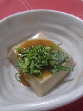 20180219 ゴマ豆腐