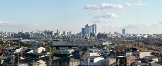 00-panorama 20180107 清洲城から-01