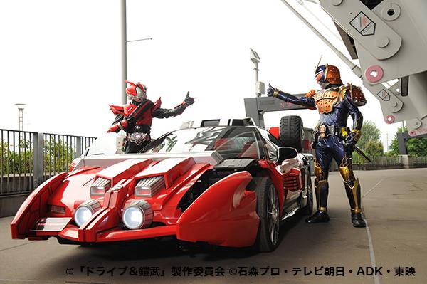 鎧武&ドライブ (2)
