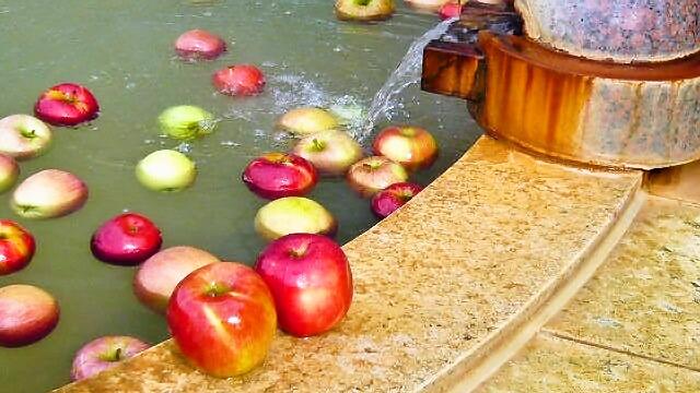 リンゴの湯