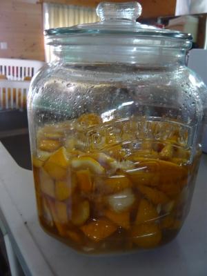 柚子砂糖漬け