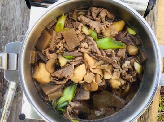 房総フィールド産 里芋の芋煮 牛肉投入