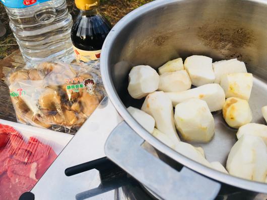 房総フィールド産 里芋の芋煮 里芋の灰汁抜き