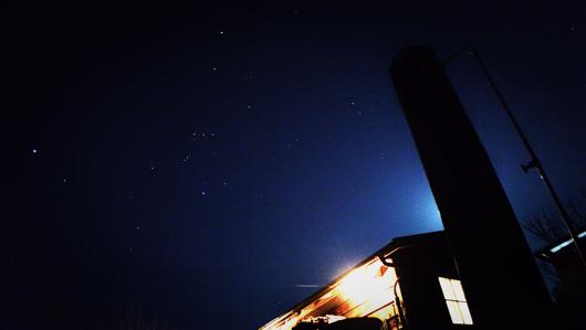 房総フィールド 冬の星空