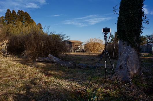 朝の房総フィールドをタイムラプスで撮影 iPhone6s