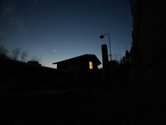 BosoField Sunset with Moment Original Superfish Lens