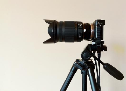 Sigma 18-250 F3.5-6.3 レンズの長さ 18mm
