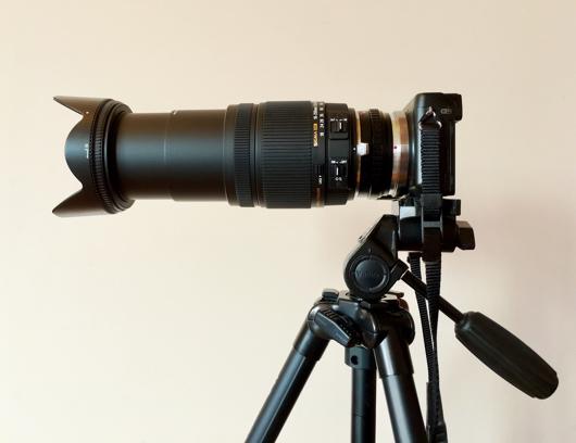 Sigma 18-250 F3.5-6.3 レンズの長さ 250mm