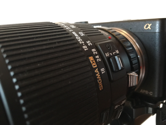 Sigma 18-250 F3.5-6.3 AF/M OS