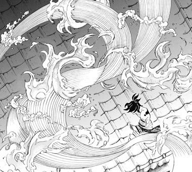 鬼滅の刃90話 ヒノカミ神楽と水の呼吸の合体技