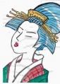 日本髪青 (2)