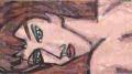 4モジリアニ腕を広げて横たわる裸婦 (4)