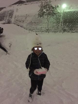 雪遊び横浜