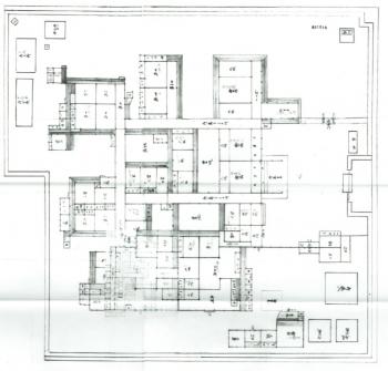 中院家下屋敷指図(明治4年)