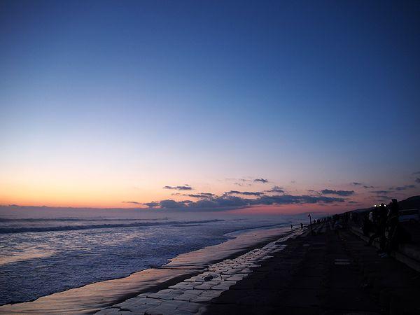 初日の出@鹿島灘海浜公園