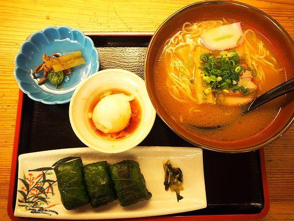 わさび寿司定食