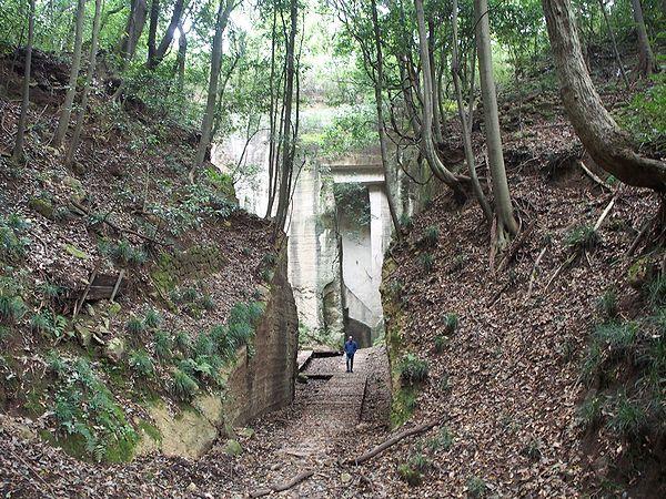 藪塚石切場跡