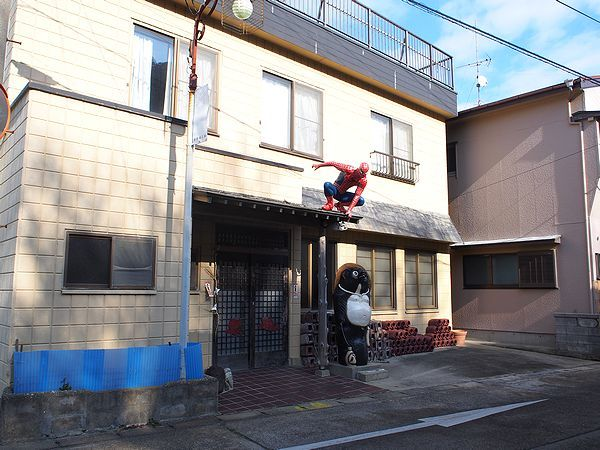 スパイダーマン@篠島