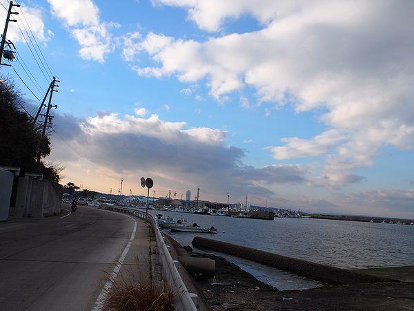 日間賀島北港