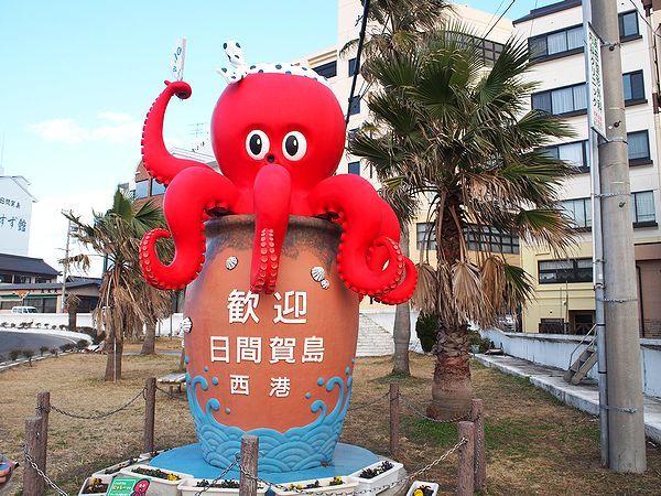 日間賀島の西港付近
