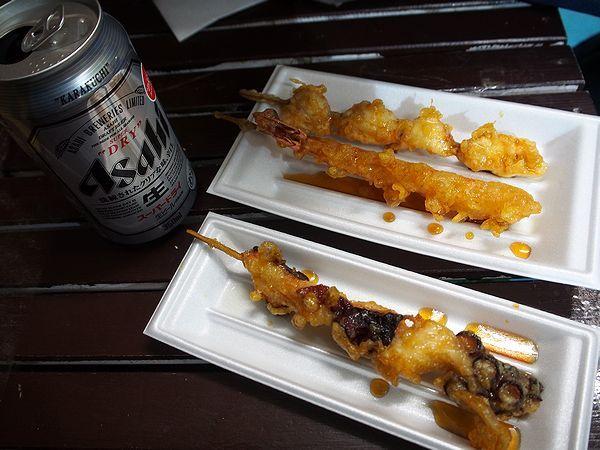 日間賀島で見つけた天ぷら屋