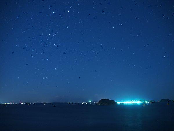 サンホテル太陽荘からの星空