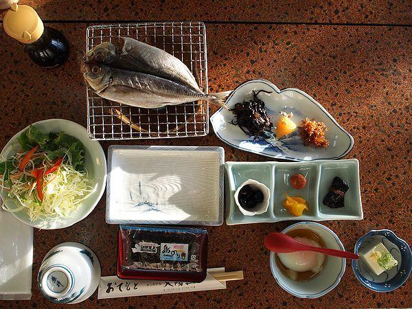 サンホテル太陽荘の朝食