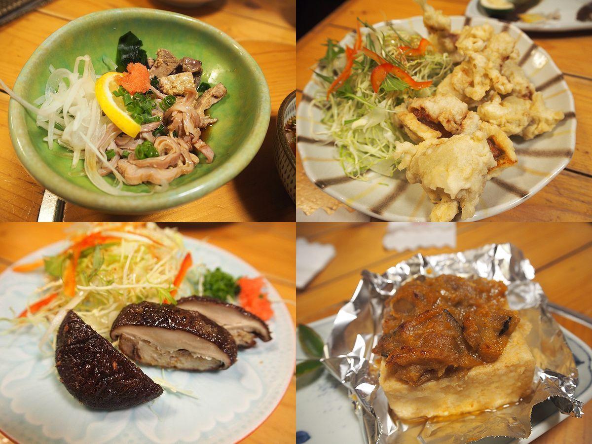 こつこつ庵の郷土料理