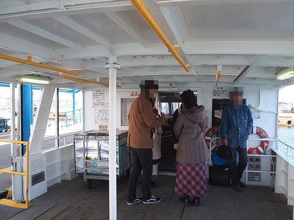 佐久島行きの高速船