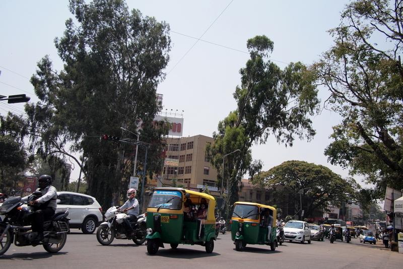 ■ バンガロールの街 インド