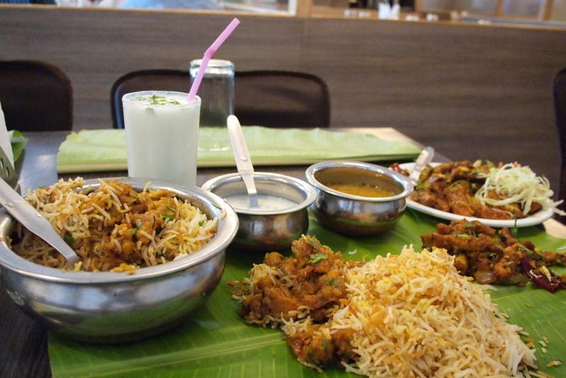 ■ Biriyani @ Meghana Food  バンガロール