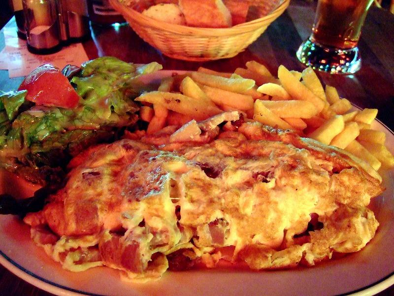 ■パリのあまり美味しくないディナー