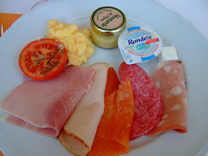 ■パリの朝食(2日目)♪