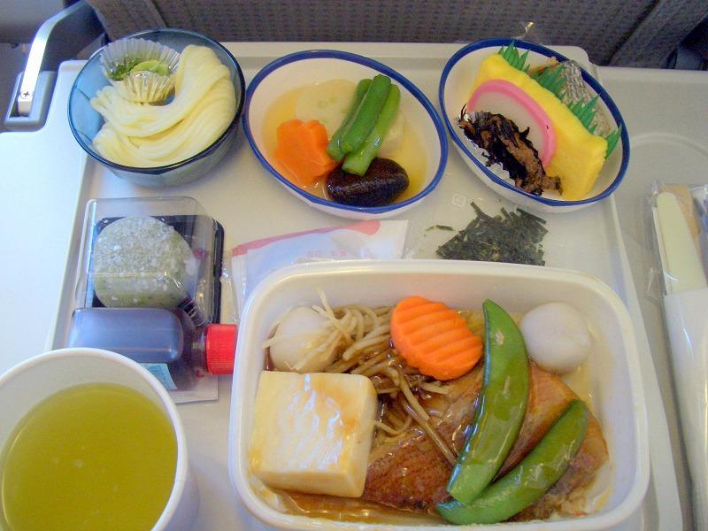 ■JAL国際線 機内食