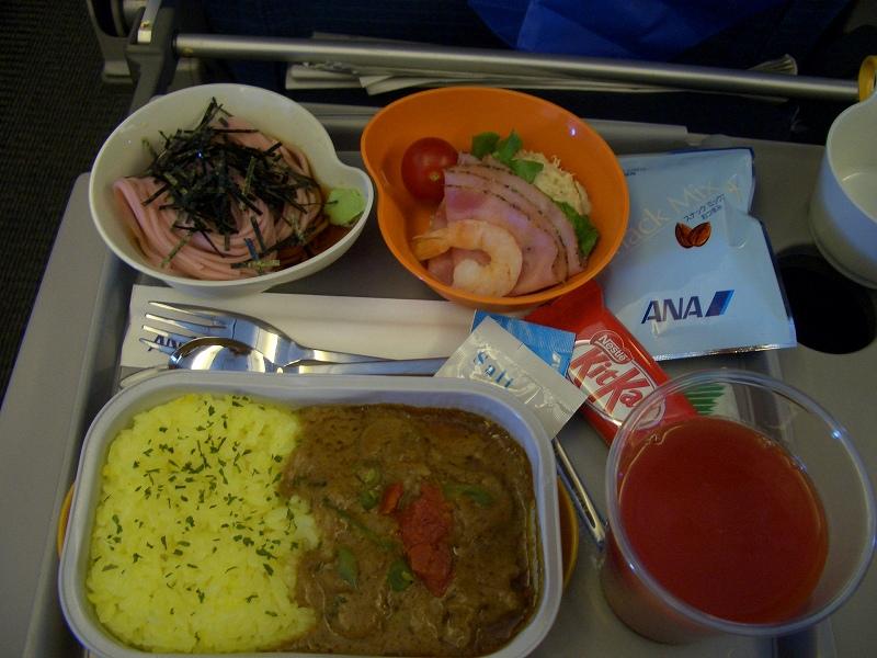 ■大阪~黄山 機内食一覧