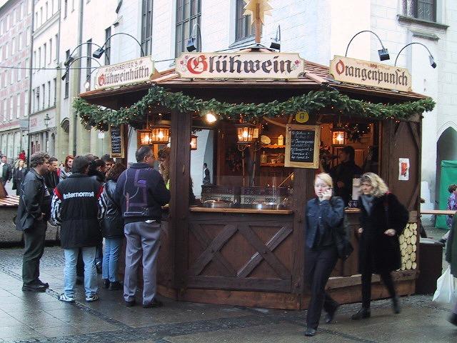 ■ミュンヘンのクリスマスバザール